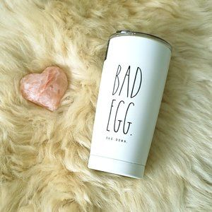 Rae Dunn Good Egg, Bad Egg Insulated Tumbler